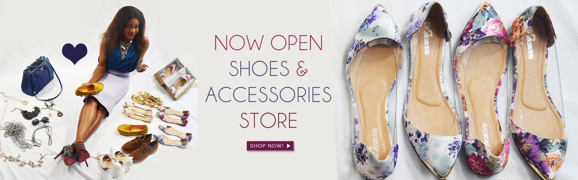 Shoes and Accessories Shop Now Open